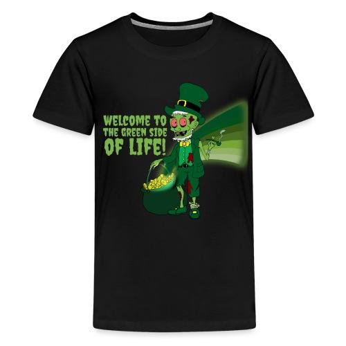 green side - Teenage Premium T-Shirt