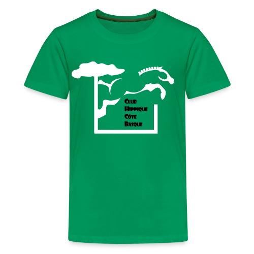 chcb logovecto - T-shirt Premium Ado