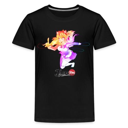 model chanteuse jfm png - T-shirt Premium Ado