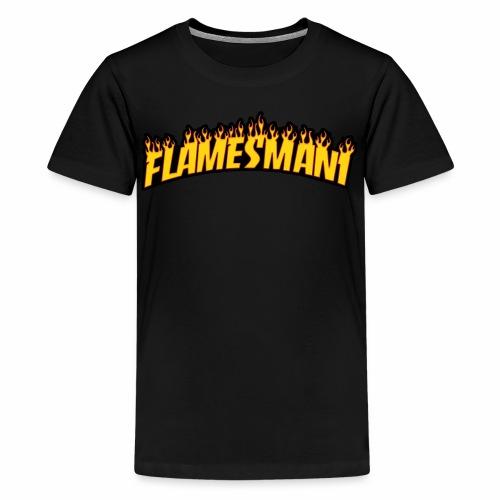 Flamemasher - Teenager premium T-shirt