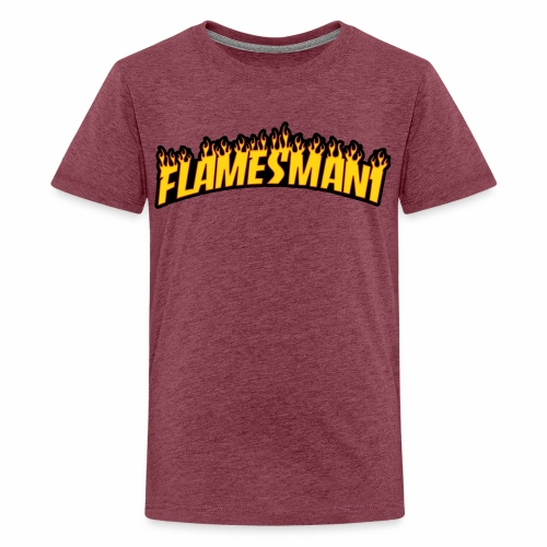 Flamemasher - Teenager premium T-shirt