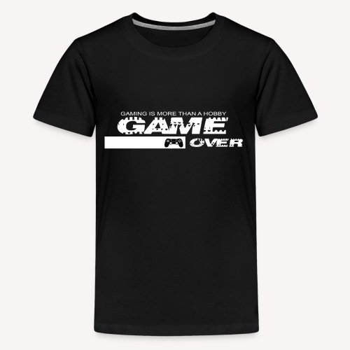 GAME OVER 2 - Teenager Premium T-Shirt