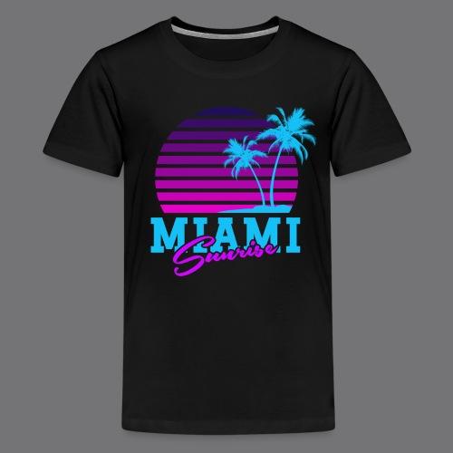 MIAMI SUNRISE t-shirts - Teenage Premium T-Shirt