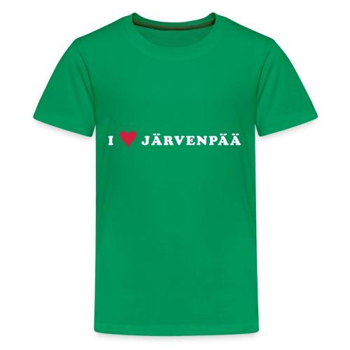 I LOVE JARVENPAA - Teinien premium t-paita