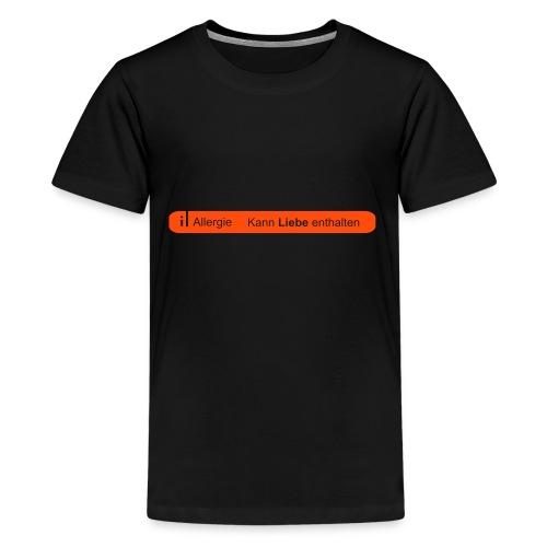 Liebesallergie - Teenager Premium T-Shirt
