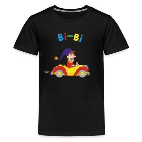 Bibi droit dans le mur - T-shirt Premium Ado