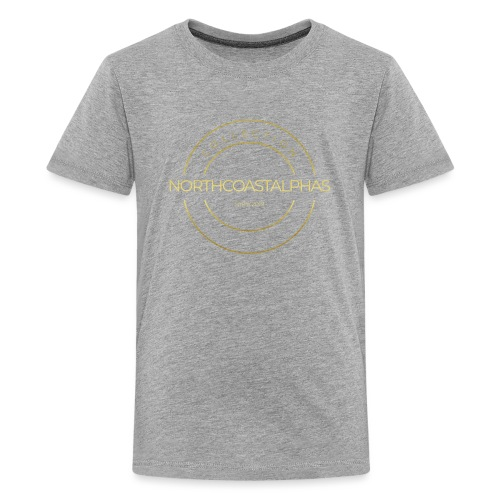 North Coast Alpha Collection First Class Outfit - Teenager Premium T-Shirt