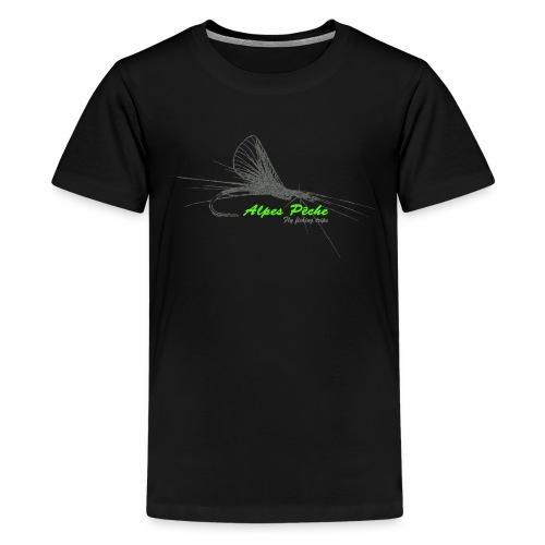 Alpes pêche - fly fishing - T-shirt Premium Ado
