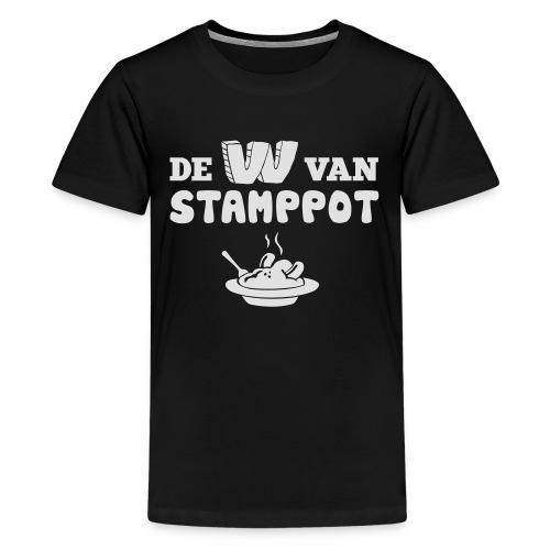 De W van Stamppot - Teenager Premium T-shirt