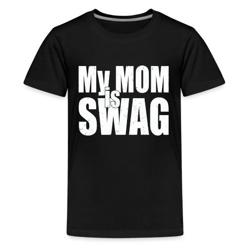 Swag White - Teenager Premium T-shirt