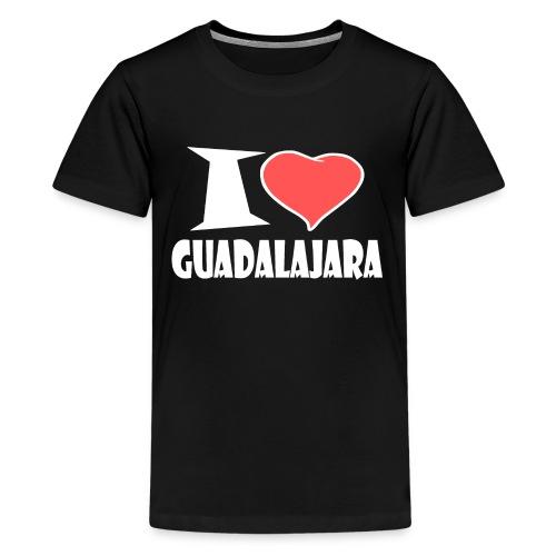I love Guadalajara - Teenager Premium T-Shirt