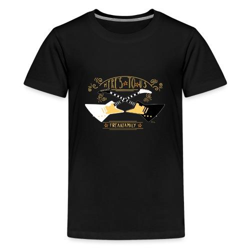 Here s to us Version 1 - Teenage Premium T-Shirt