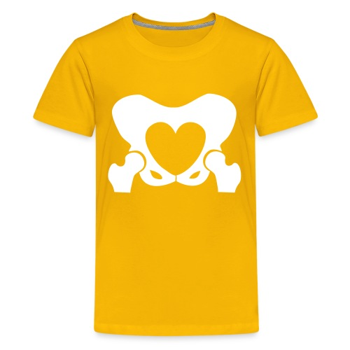 Love Your Hips Logo - Teenage Premium T-Shirt