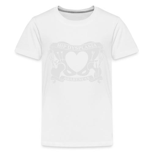 Hip Dysplasia Awareness - Teenage Premium T-Shirt