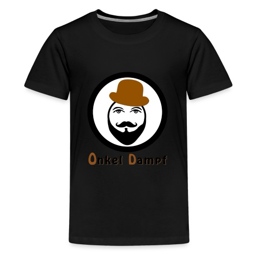 onkel dampf handy case - Teenager Premium T-Shirt