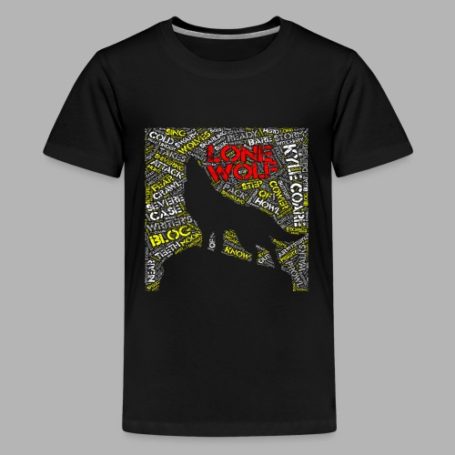 Lone Wolf - Teenage Premium T-Shirt