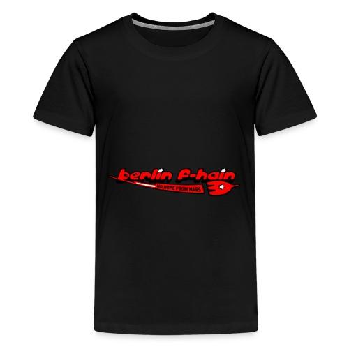 Berlin F-hain - Teenager Premium T-Shirt