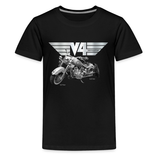 Royal Star silver Wings - Teenager Premium T-Shirt