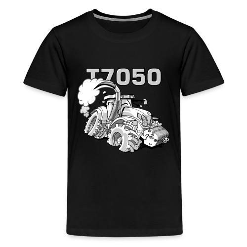 0846 NH T7050 gray - Teenager Premium T-shirt