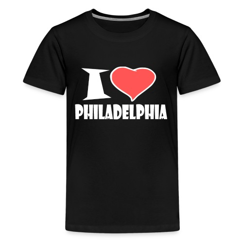 I love Philadelphia - Teenager Premium T-Shirt