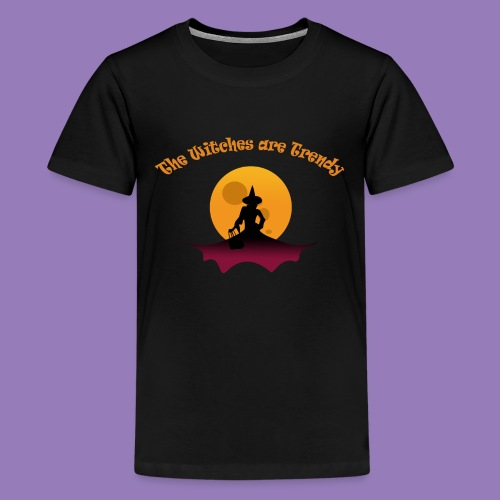 the witches are trendy - T-shirt Premium Ado