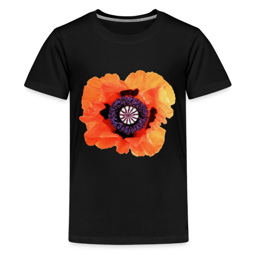 TIAN GREEN - Mohnblüte 2020 01 - Teenager Premium T-Shirt