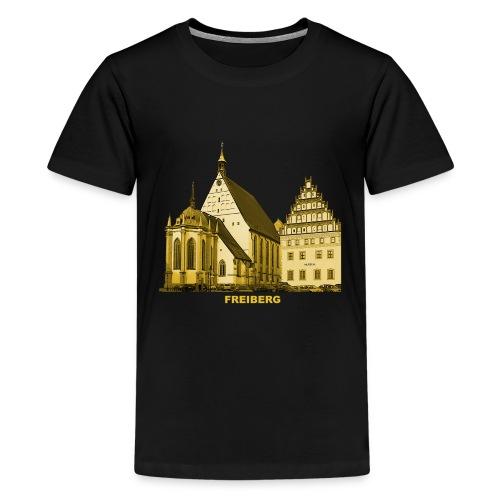 Freiberg Sachsen Dom Silbermann Orgel Erzgebirge - Teenager Premium T-Shirt