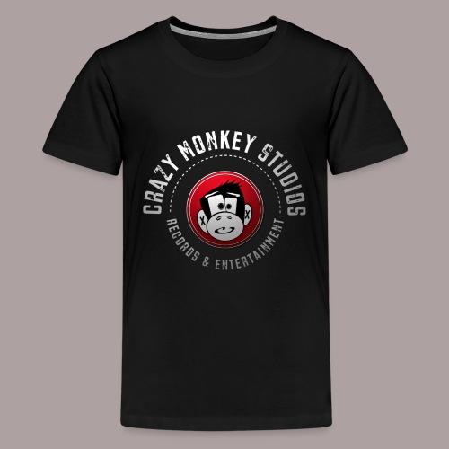 CMS Weiss Rot shirt png - Teenager Premium T-Shirt