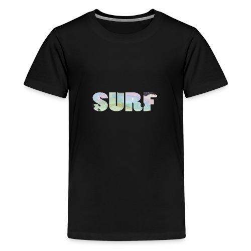 Surf summer beach T-shirt - Teenage Premium T-Shirt