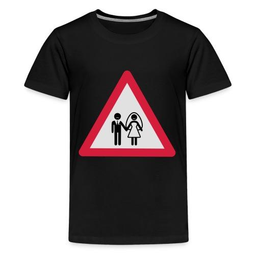 Danger Wedding - Camiseta premium adolescente