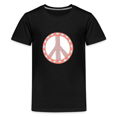 Pinky peaceful violence-0 - Teenage Premium T-Shirt