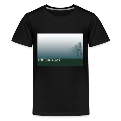 PIATTURAPADANA - Maglietta Premium per ragazzi