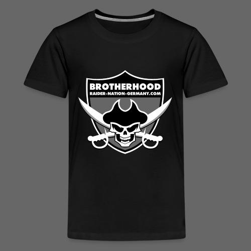 RAIDER NATION GERMANY - Teenager Premium T-Shirt