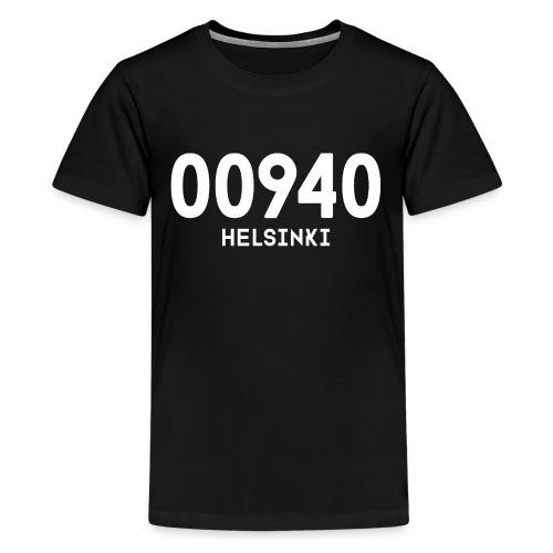 00940 HELSINKI - Teinien premium t-paita