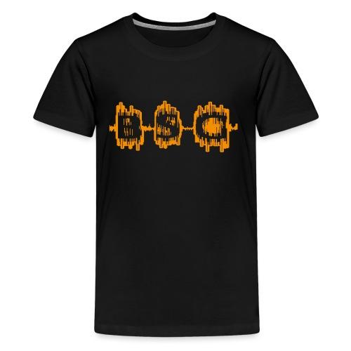 BSg swag hat - Teenage Premium T-Shirt