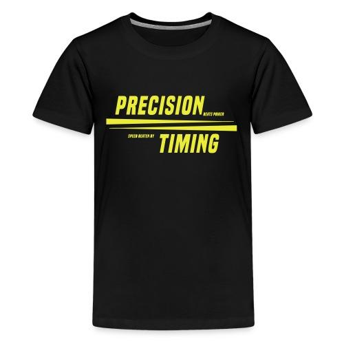 PRECISION & TIMING - Teenager premium T-shirt