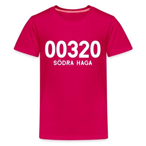 00320 SODRAHAGA - Teinien premium t-paita