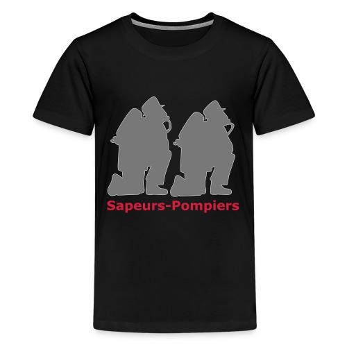 Sapeurs-pompiers - T-shirt Premium Ado