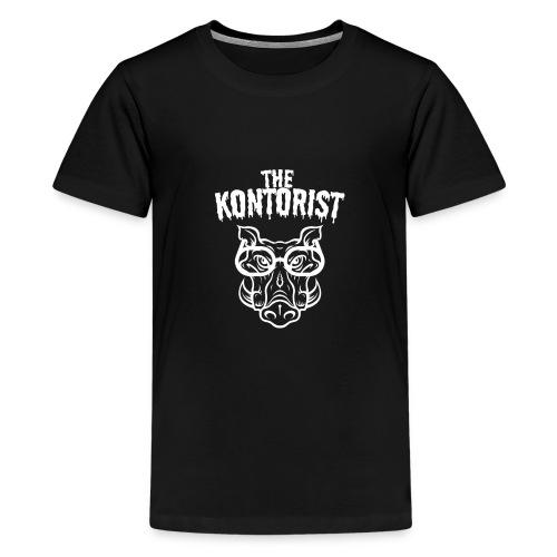 The Kontorist / The Clerk - Premium T-skjorte for tenåringer