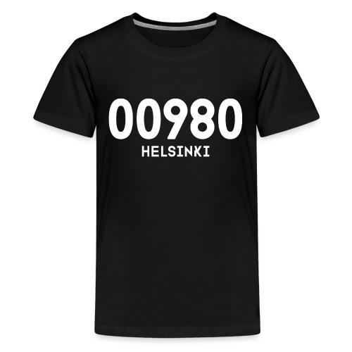 00980 HELSINKI - Teinien premium t-paita