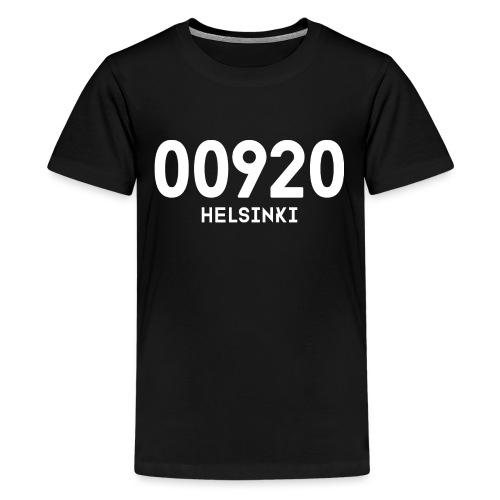 00920 HELSINKI - Teinien premium t-paita