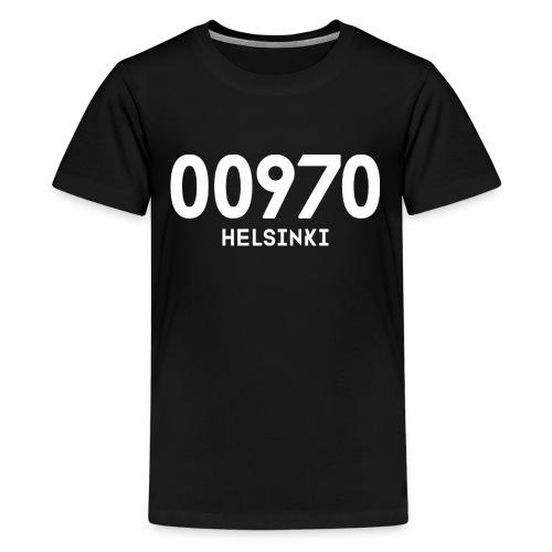 00970 HELSINKI - Teinien premium t-paita