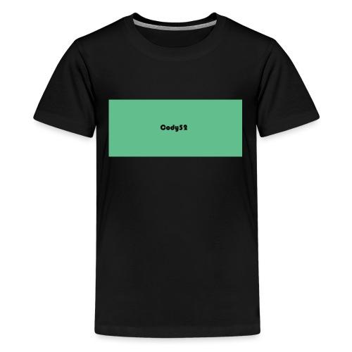 Cody52 Backpack - Teenage Premium T-Shirt
