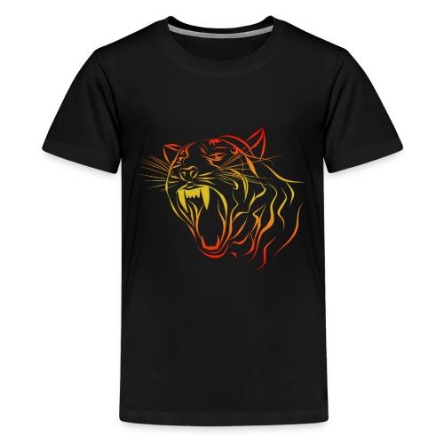 Tigre - Camiseta premium adolescente