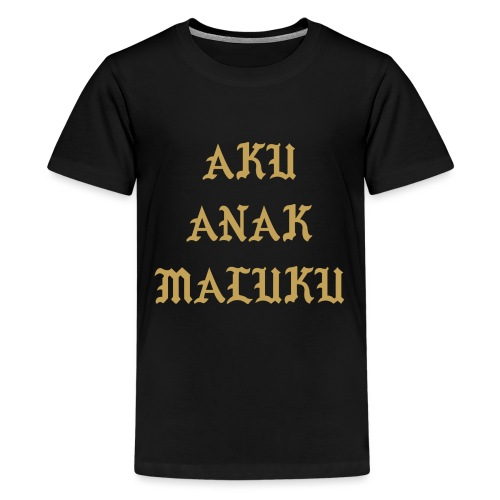 Aku Anak Maluku goud png - Teenager Premium T-shirt