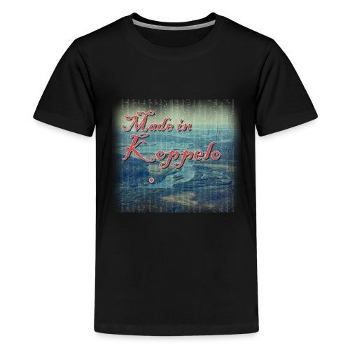 Made in Koppelo lippis - Teinien premium t-paita