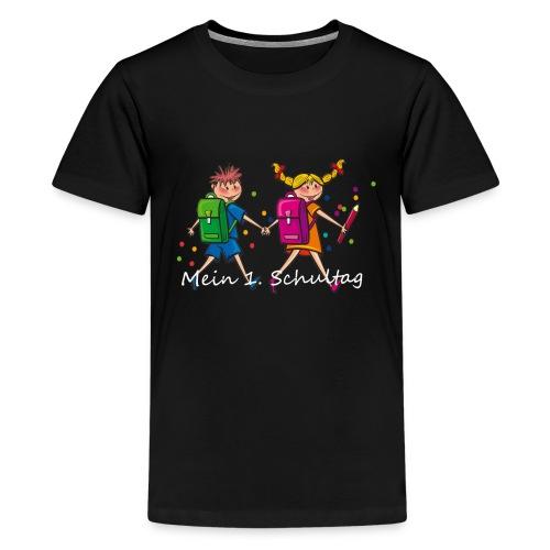 Mein 1. Schultag - Teenager Premium T-Shirt