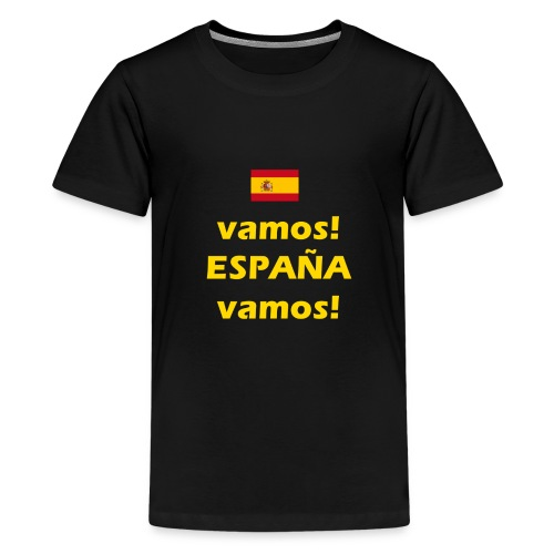 hup Spanje hup - Viva Espana - Teenager Premium T-shirt