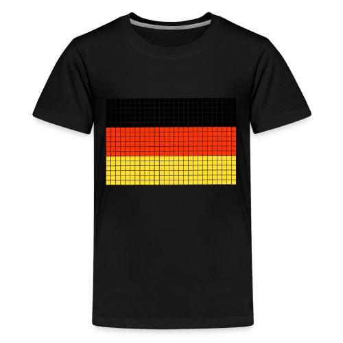 german flag.png - Maglietta Premium per ragazzi