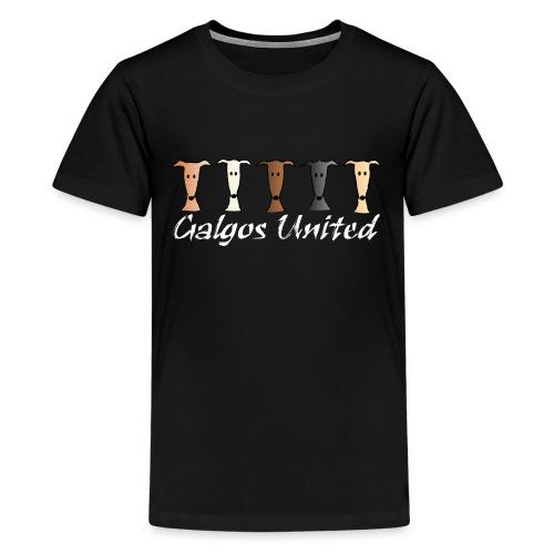 Galgos united - Teenager Premium T-Shirt